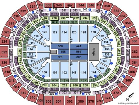 pepsi center floor plan pepsi center denver events in year