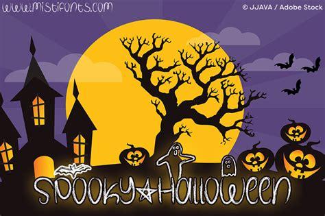 dafont halloween spooky halloween font dafont com