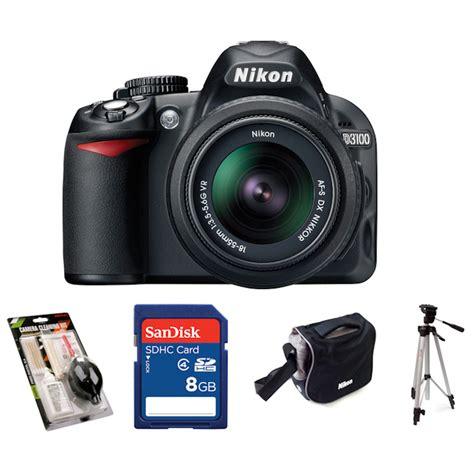 Memory Card Dslr Nikon Nikon D3100 Digital Slr With 18 55mm Nikkor Vr Lens
