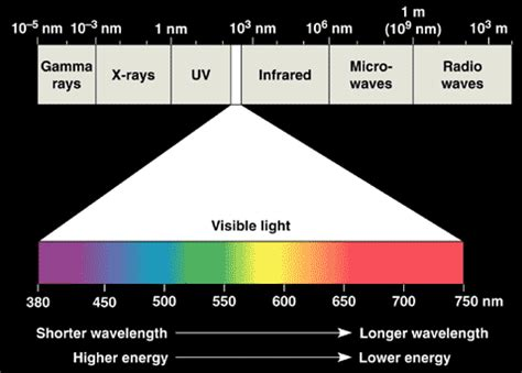 Violet Light Wavelength by Quia General Chemistry The Electromagnetic Spectrum