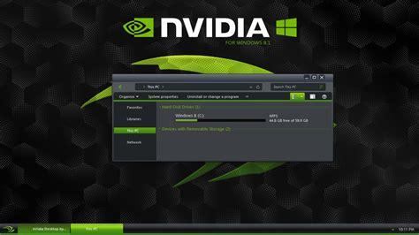 theme windows 8 1 youtube nvidia theme for windows 8 1 youtube