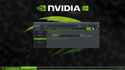 theme windows 8 1 msi nvidia theme for windows 8 1 youtube