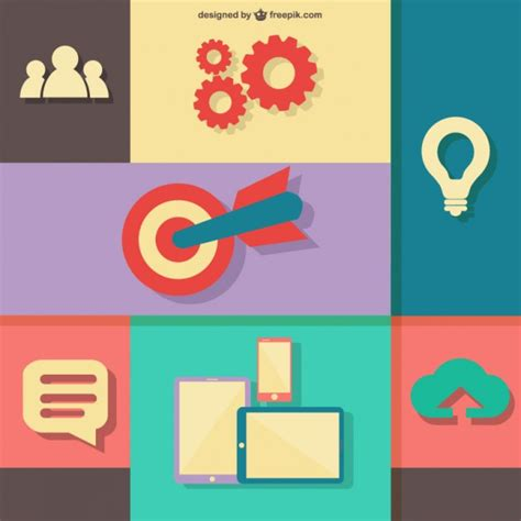 design elements group web design elements vector free download