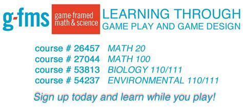 game design hostos sign up for game framed math science classes hostos