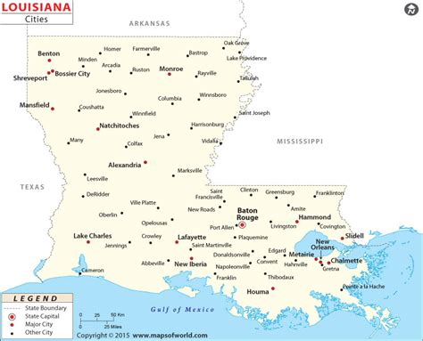 map of louisiana with cities cities in louisiana louisiana cities map