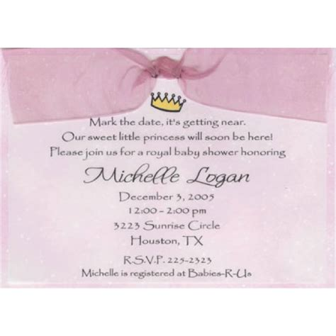 princess baby shower invitation templates princess baby shower quotes