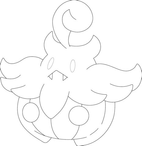 pokemon coloring pages inkay pumpkaboo coloring page free printable coloring pages