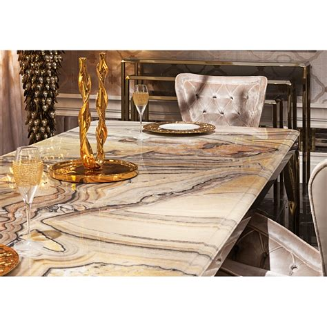 marble and stainless steel dining table messina stainless steel marble dining table