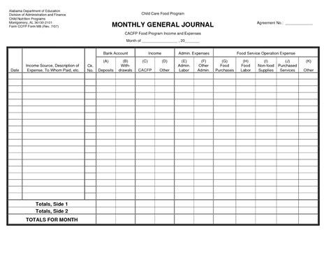 restaurant accounting template doc 650901 new general ledger templates excel free