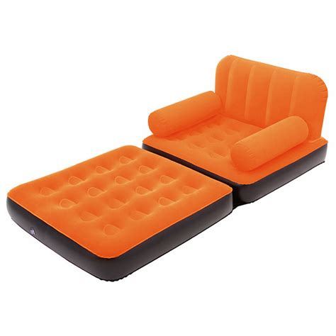 sofa sleeper inflatable mattress inflatable sofa couch full single air bed daybed