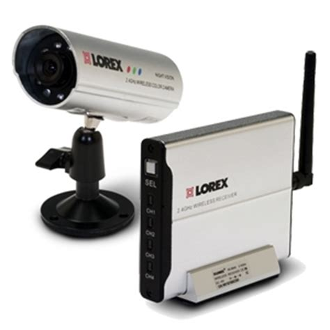 lorex 2.4 ghz wireless color video system with