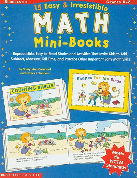 picture books for math easy to read mini books mini plays on science math for