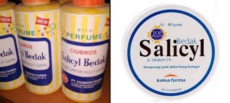 Herocyn Bedak Gatal bedak salicyl kegunaan dosis efek sing mediskus