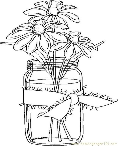 coloring page jar free coloring pages