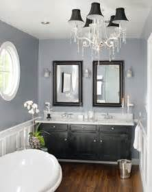 black and white bathroom accent color the gray and white with the wood and black