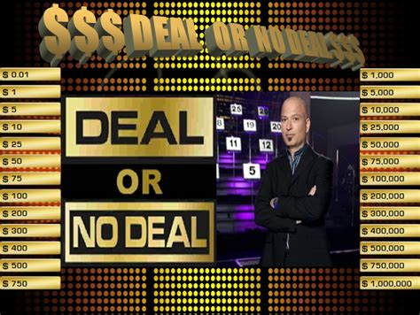 The Computer Lab Teacher Deal Or No Deal Powerpoint Game Deal Or No Deal Classroom