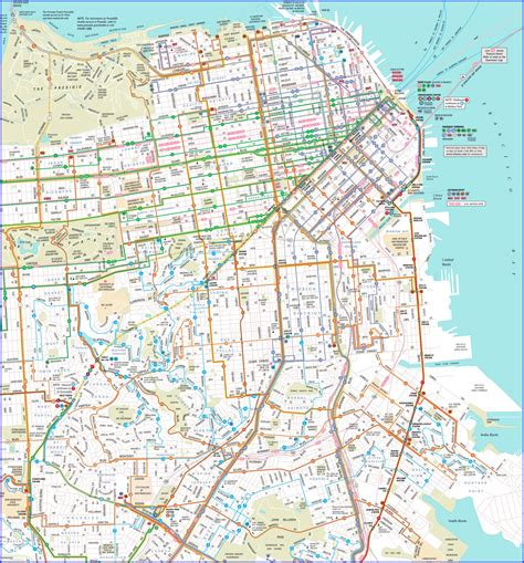 san francisco trolley map pdf muni map pdf adriftskateshop