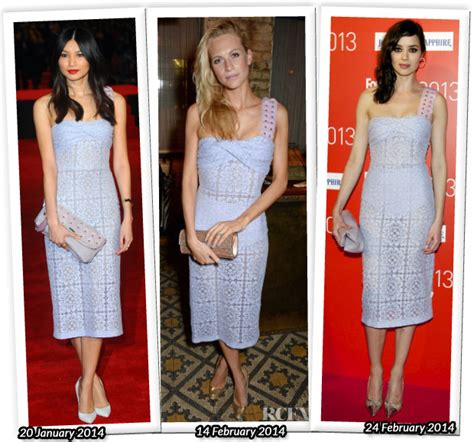 Who Wore Better Carpet Style Awards by Who Wore Burberry Prorsum Better Gemma Chan Poppy