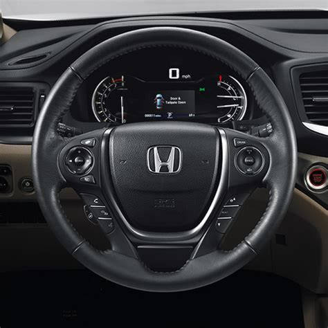 2016 2019 pilot heated steering wheel (except lx models)