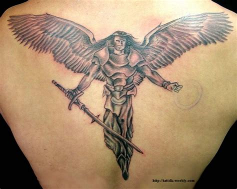 angel back tattoos designs meanings allcooltattoos