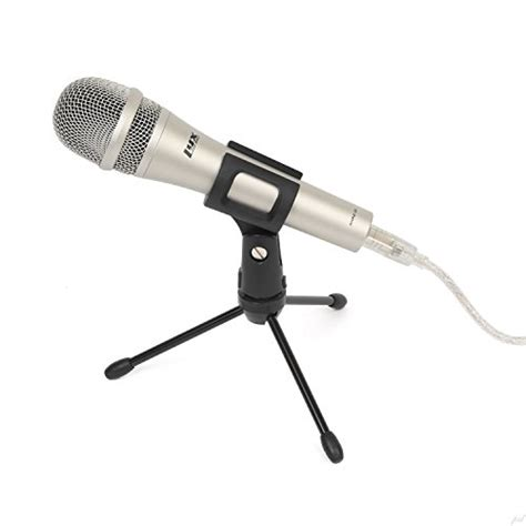 lyxpro hhmu 10 cardioid dynamic usb microphone for home