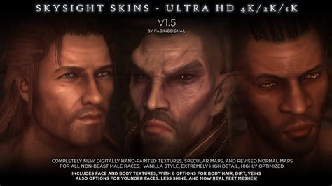 male dragonic argonian textures 4k 2k sos and vanilla skysight skins ultra hd 4k and 2k male textures and