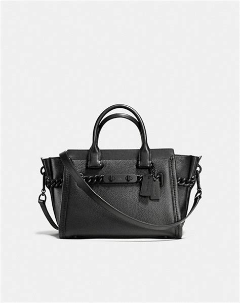 Coach Swagger 27 In Pabble Leather coach coach swagger 27 in pebble leather