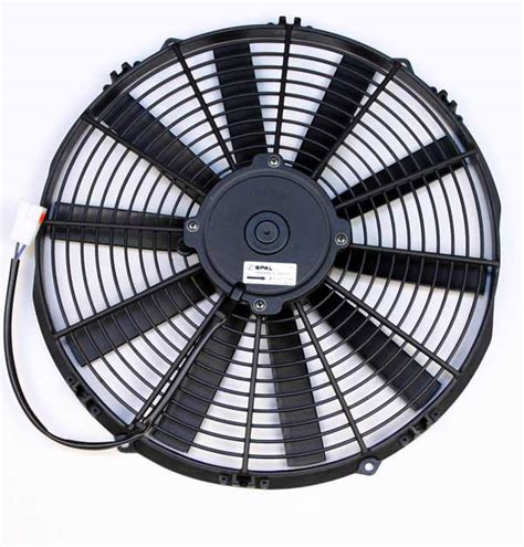 spal 14 electric fan a1 electric store spal 30101509 14 quot medium profile fan
