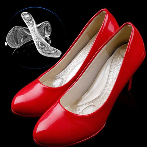 orthopedic high heel shoes 1 pair transparent 3 4 silicone gel orthotic for flat