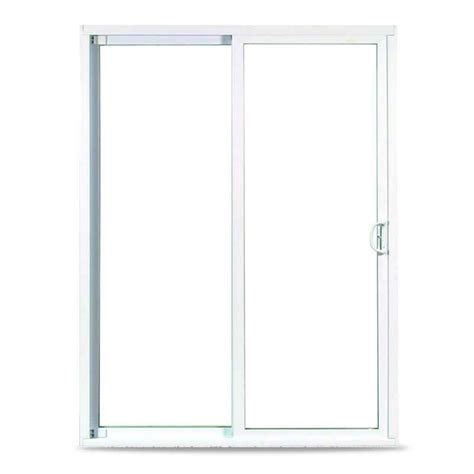 american craftsman patio doors american craftsman 36 in x 78 in 50 series hvhz approved sliding patio door white vinyl moving