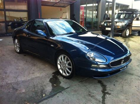 navy blue maserati blue maserati 3200gt for sale at 36000