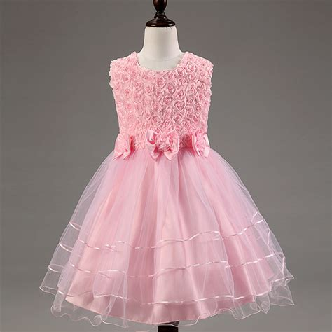 Dress Kid Bungashan 3 baby dress children dresses for 3 4 5 6 7 8 9 10 year birthday dresses