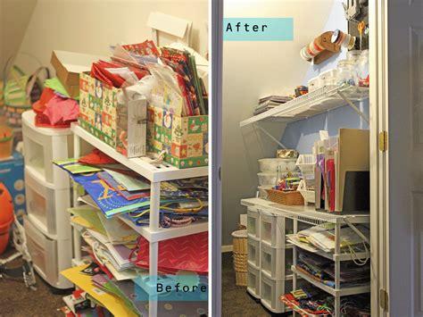plan play craft closet reorganized