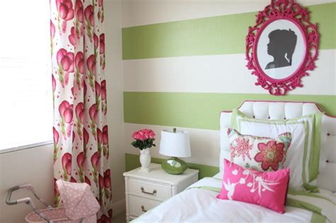 preppy room preppy modern pink green s room project nursery