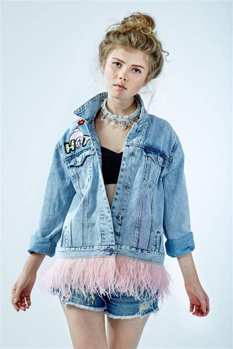 1000 ideas about denim paint on for genes shop justice and justice backpacks