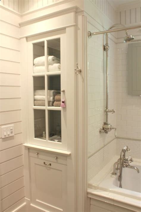 built in wall bathroom cabinets built in linen cabinet tile fixtures rub a dub dub