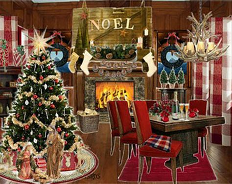 traditional home christmas decorating decorating for a traditional christmas homes com