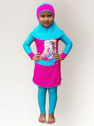 Baju Dan Celana Renang Anak desain baju renang muslim anak terbaru imut dan lucu