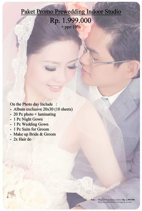 Paket Hemat Pre Wedding Indoor special offers 171 curly photo bridal salon