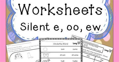 ew pattern words long u worksheets silent e oo ew spelling patterns