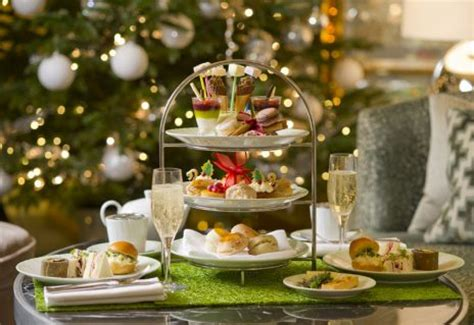 14 of the best christmas afternoon teas in london