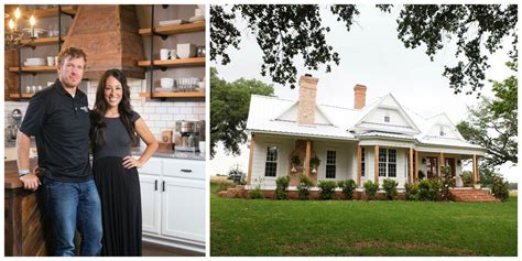 chip and joanna farmhouse chip and joanna gaines from fixer upper kick off a new