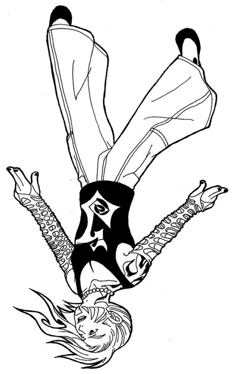 Inked Jeff Hardy By Cuttpie522 On Deviantart Jeff Hardy Coloring Pages