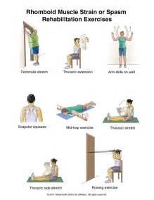 Summit Medical Group Rhomboid Strain Or Spasm Exercises