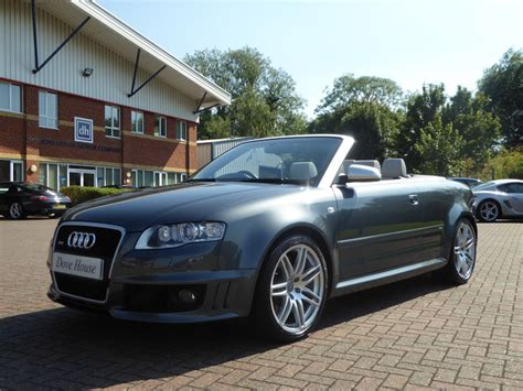 Audi Rs4 V8 by Audi Rs4 4 2 V8 Convertible Dove House Motors