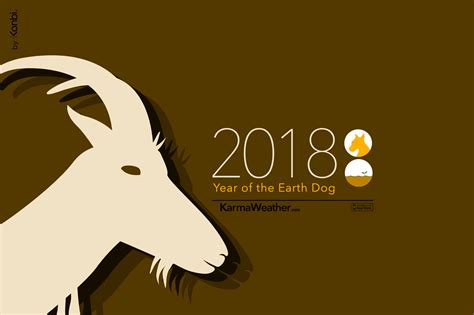 happy new year goat year 2018 goat year color my