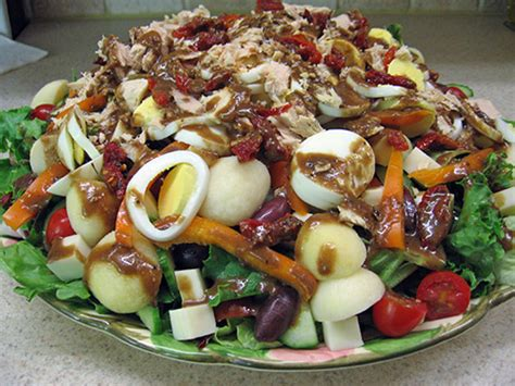 big salads 31 easy recipes for your healthy month books big salad with balsamic vinaigrette got no milk