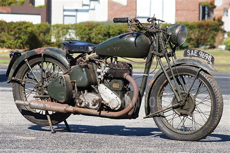 Gambar Motor Bsa by Sold Bsa M20 500cc Motorcycle Auctions Lot 26 Shannons