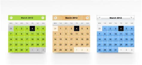 calendar psd templates psd file free