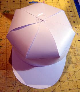 How To Make A Paper Baseball Cap - the lilac diary egg cellent easter